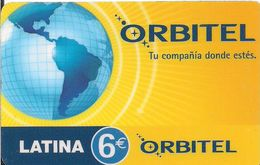 TARJETA PRE -PAID  ORBITEL - Tarjetas Telefónicas