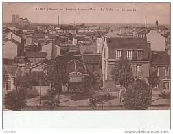 Reims-Quartier Jeanne D'Arc-La Ville Vue Du Quartier. - Reims