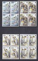 South Georgia 2000 King Penguins 4v  Bl Of 4   ** Mnh (37906) - South Georgia