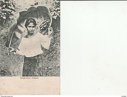 Sri Lanka-Singhalese Woman. - Sri Lanka (Ceilán)