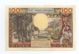 RARE BILLET 100 FRANCS BANQUE CENTRALE ETATS AFRIQUE EQUATORIALE ELEPHANT BE TBE VOIR SCANS - Other - Africa