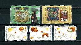 Croacia  Nº Yvert  279/80-281/3  En Nuevo - Croacia