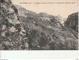 399.Saorge-Le Village De Saorge Et La Caserne Des Chasseurs Alpins. - Autres Communes