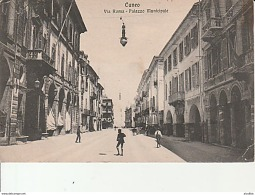 Cuneo-Via Roma-Palazzo Municipale. - Cuneo