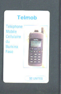 BURKINA FASO - Chip Phonecard/Telmob - Burkina Faso