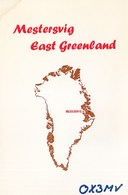 Greenland Gronland - Mestersvig - Radio Amateur Card - Greenland