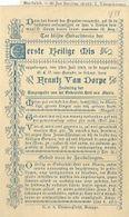 MA55/1903  1e H MIS IN KAPEL TE SCHEUT E.P.FRANTZ VAN DORPE - Religion & Esotericism