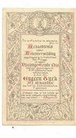 MA55/1903  1e H MIS ANTWERPEN 1884 EUGEEN TYCK  = E.P. AMANDUS - Religion & Esotericism