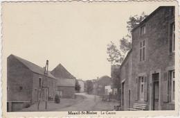 MESNIL-ST-BLAISE-LE CENTRE-CARTE ENVOYEE-1946-VOYEZ LES 2 SCANS-RARE ! ! ! - Houyet