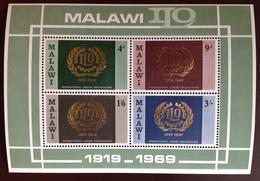 Malawi 1969 ILO Minisheet MNH - Malawi (1964-...)