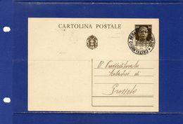 ##(DAN183)-19-2-1938- Cartolina Postale Cent.30 Da Castelnuovo Berardenga(Siena) Per Grosseto - Marcophilie