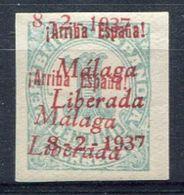 ESPAÑA    Malaga   Nº 2hh    -299 - Emisiones Nacionalistas