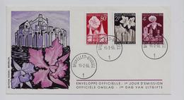 Belgie - Belgique 961/63 FDC - Edition Rodan - Gentse Floraliën - FDC