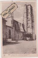 32 Lectoure - Cpa / Cathédrale Saint-Gervais - Les Tours. - Lectoure