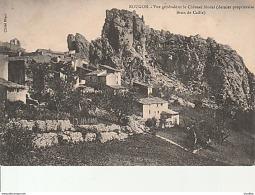 Rougon-Vue Générale Et Le Château Féodal(Dernier Propriétaire Brun De Caille).Clich&ea - Other Municipalities