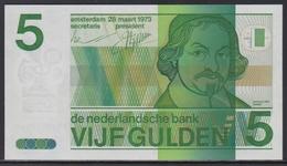 Niederland 5 Gulden 28.03.1973 UNC - [2] 1815-… : Kingdom Of The Netherlands