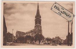 95 Argenteuil - Cpa / L'Eglise Et La Place. - Argenteuil
