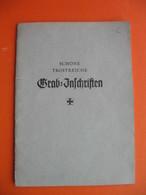 SCHONE TROSTREICHE Grab Inschriften...von R.BANKA - Christianisme