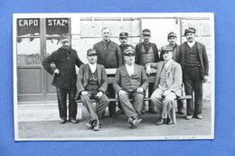 Cartolina Ferrovie - Stazione Di Rovato - Ferrovieri - 1931 - Brescia