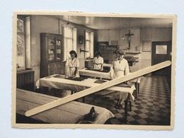 BLEGNY-TREMBLEUR»INSTITUT St-JOSEPH»8 Cartes ,salle De Couture,réfectoire,parloir,une Classe,salle Repassage ....NELS - Ecoles