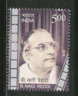 India 2018 B Nagi Reddy Tamil Film Producer Cinema Movie 1v MNH - Cinema