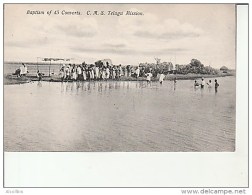 Baptism Of 45 Converts-CMS Telugu Mission. - India