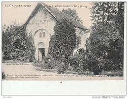 Fontaine La Sorêt Près La Riviere Thibouville.Chapelle De St Eloi.Imp.Acard. - Evreux