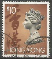 Hong Kong  - 1992 Queen Elizabeth II $10 Used   SG 715 - Hong Kong (...-1997)