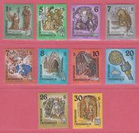 1993 -1995 **  Österreich (sans Charn., MNH, Postfrish) Stifte Und Klöster Complete (10v.) - Géographie