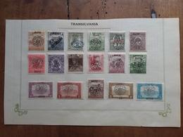 ROMANIA 1919 - Occupazioni Transilvania + Attaccati Con Linguella + Spese Postali - Occupations
