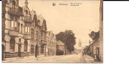 Oostkamp, Kortrijkstraat, Met O.a. Militaire Infermerie, Kerk En Auto. - Oostkamp