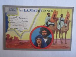 Colonies Françaises La Mauritanie Illustrateur Chameau - Mauritania