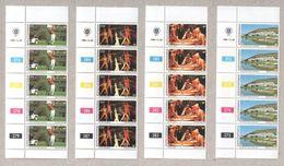 Bophuthatswana Blocks Of MNH Stamps 1980 Tourism - Bophuthatswana