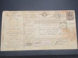 ITALIE - Colis Postal Pour La Suisse En 1895 - L 14845 - 1878-00 Humbert I.