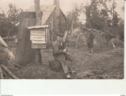 Carte-Photo:Mesnil De Briouze-Village De Longuende Après L'Ouragan Du 8 Mai 1928. - Briouze