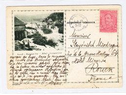 Yugoslavia Kingdom Belgrade POSTCARD TO France 1933 - Postal Stationery