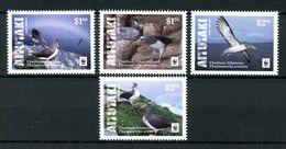 WWF W.W.F. Aitutaki Cook Islands MNH Perf Stamps 2016 : Chatham Albatross Bird - W.W.F.