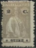 Portuguese Guinea Guiné 1914-26 Ceres A6 Hinge Mark - Francobolli