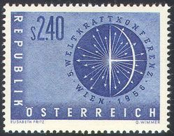 Austria, 1956, World Nuclear Energy Conference, United Nations, MNH, Michel 1026 - Autriche
