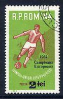 ROMANIA 1962 European Youth Football Win Used.  Michel 2095 - 1948-.... Republics
