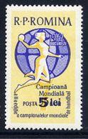 ROMANIA 1962 World Ladies Handball Win MNH / **.  Michel 2094 - 1948-.... Republics