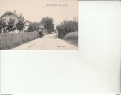 Franconville-Rue Du Plessis-Photo.Baron. - Franconville