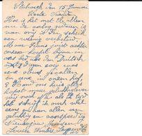 Stabroek, Postkaart, Militair, WOII, Ontploffing Laageind Nr 6, Met Zegel 1946. - Stabroek