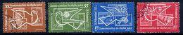 ROMANIA 1962 Space Exploration Used.  Michel 2086-89 - 1948-.... Republics