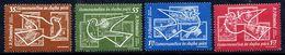 ROMANIA 1962 Space Exploration MNH / **.  Michel 2086-89 - Unused Stamps