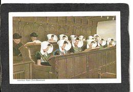 Zuid Beveland,Netherlands-Interieur Kerk,Ladies In Prayer 1910s - Antique Postcard - Autres