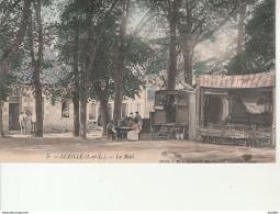 Luzillé-Le Mail-Barraque De Spectacle Marionnettes. - France