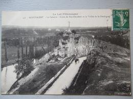 LE LOT PITTORESQUE / MONTVALENT LE CALVAIRE ROUTE DE ROC AMADOUR / JOLIE CARTE ANIMEE 1916 - France