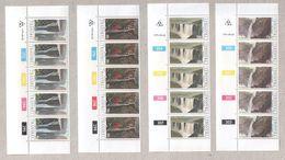 Transkei 1979 Waterfalls Set Blocks Of MNH Stamps - Transkei
