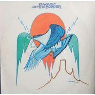 EAGLES On The Border Label:asylum Records Original 1974 Pochette: VG+ Disque: VG+ - Rock